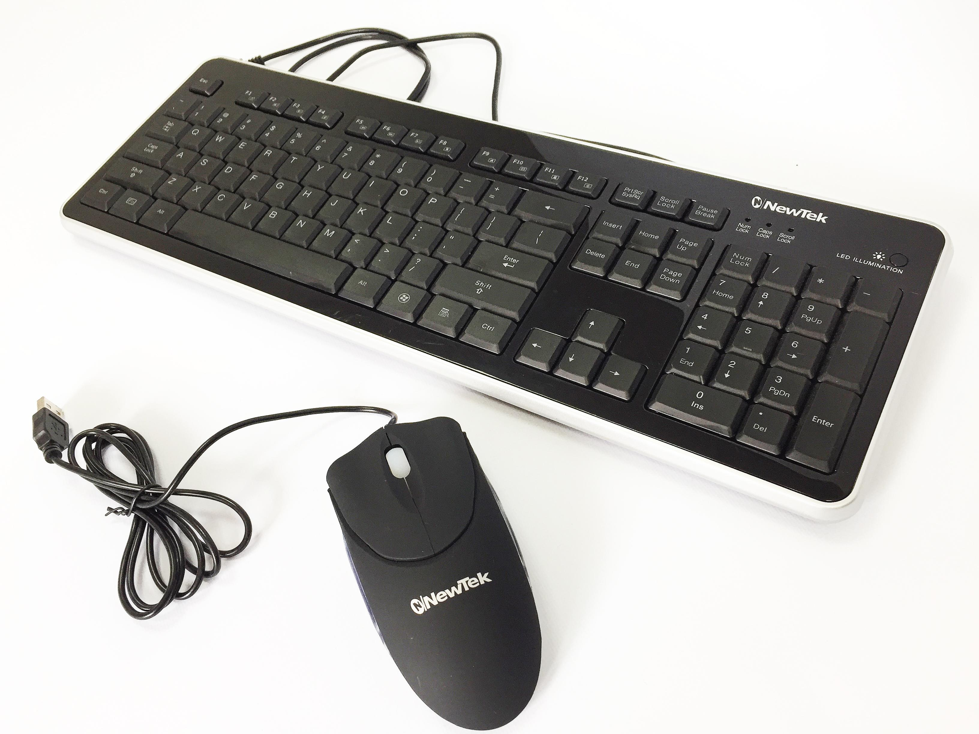 NewTek Keyboard and mouse